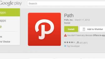 "Path Luncurkan ""Path Talk"", Pesaing WhatsApp"
