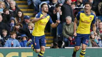 Babak I:  Arsenal 1, Burnley 0