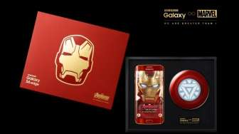Samsung Luncurkan Galaxy S6 Edge Iron Man