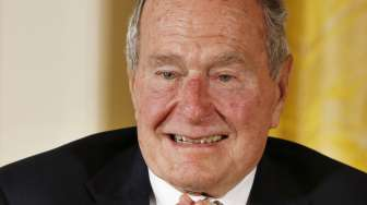 Tertular Infeksi, Mantan Presiden AS George HW Bush Dirawat di RS Houston