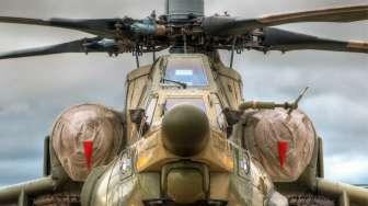BNPB Kirim Helikopter Canggih Atasi Bau Menyengat Lokasi Bencana