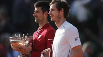 Andy Murray Keok di Madrid Masters