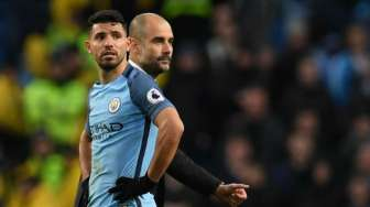 Jelang Derby Manchester, Sergio Aguero Remehkan Pemain United