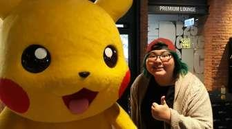 "Yuka Tamada Nangis Tiga Kali Nonton ""Pokemon The Movie"""