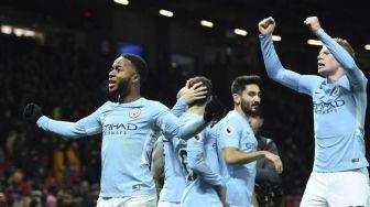 City Permalukan MU, Berikut Hasil dan Klasemen Liga Inggris