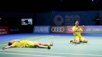 'The Minions' Hattrick! Kevin / Marcus Juara India Open 2018