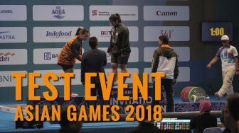 Torehan  Pretasi di Test Event Asian Games 2018