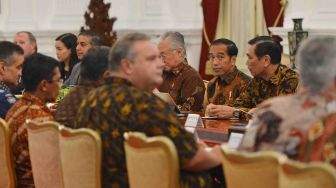Jokowi Terima Delegasi US-ASEAN Business Council