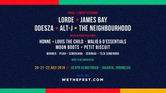 Lorde Meriahkan We The Fest 2018
