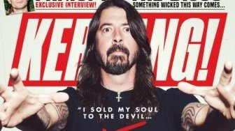 Foo Fighters Gondol Kerrang! Awards, ini Pidato Kocak Dave Grohl