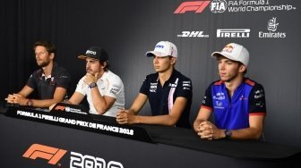 Hadir: The Three Musketeers di F1 GP Perancis 2018