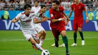 Tampil Solid, Pepe Man of The Match Laga Iran vs Portugal