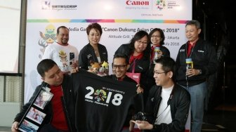 Canon dan Datascrip Manjakan Fotografer di Ajang Asian Games 2018