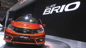 Tampil di GIIAS 2018, Label All New Brio Meroket