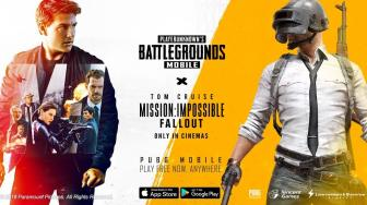 PUBG Mobile Gandeng Film Mission: Impossible Fallout