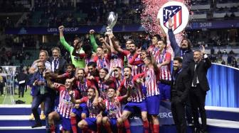 Taklukkan Real Madrid, Atletico Madrid Juara Piala Super Eropa