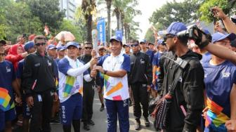 Komitmen Dukung Asian Games 2018, Bank BRI Gelar Kirab Obor