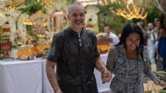 Intip Kesakralan Pernikahan Anggun C Sasmi Gunakan Adat Bali