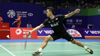 Anthony Ginting Siap Jegal Lin Dan di Indonesia Masters 2019