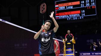 Balas Kekalahan di Asian Games, Anthony ke Final Cina Open 2018