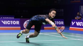 Perdana Tembus Final Level Super 1000, Anthony : Selangkah Lagi!