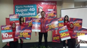 Smartfren Super 4G Unlimited Manjakan Gamers - YouTubers