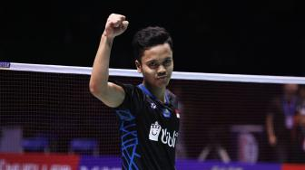 Bungkam Momota,  Anthony Ginting Juarai China Terbuka 2018