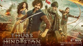 Film Bollywood Paling Ditunggu, Thugs of Hindostan Rilis Trailer