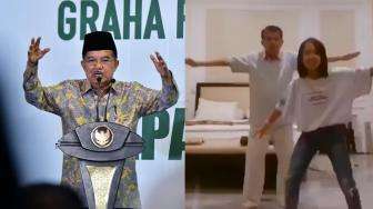 Gaya Wapres JK di Video Tik Tok