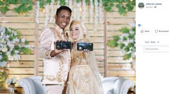 Gamer PUBG Mobile Pamer Chicken Dinner Saat Nikah, Greget Abis