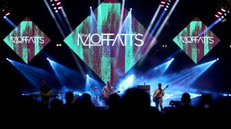The Moffatts Reunian di Panggung The 90's Festival