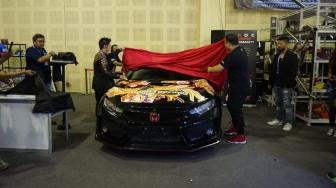 Civic Type R Nongkrong di Diecast Custom Competition IMX 2018