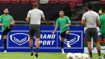 Latihan Singkat, Evan Dimas Optimistis Timnas Indonesia Kalahkan Myanmar