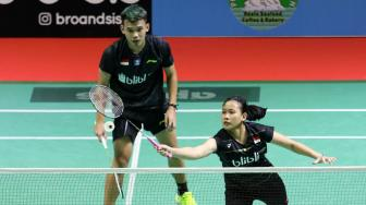 Swiss Open 2019: Derby Indonesia, Rinov/Pitha Ingin Tekuk Seniornya