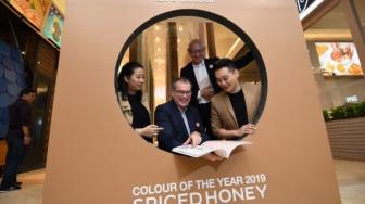 Spiced Honey Jadi Color of the Year 2019, Warna Hangat untuk Rumah