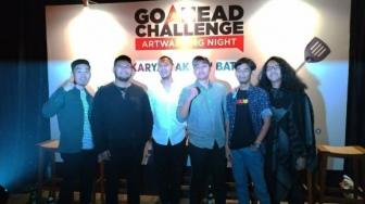 Finalis Go Ahead Challenge Realisasikan 'Makanan Glow In The Dark'