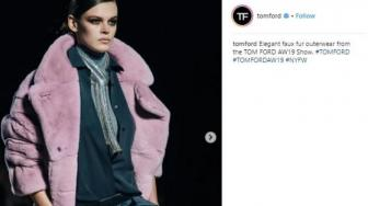 Tom Ford Pamerkan Koleksi di New York Fashion Week Fall 2019