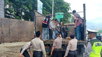 Polisi Amankan Puluhan Pelajar Diduga Akan Tawuran di Kabupaten Tangerang