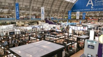 London Book Fair Suguhkan 450 Karya Penulis Indonesia