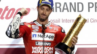 Dovizioso Juara MotoGP Qatar 2019