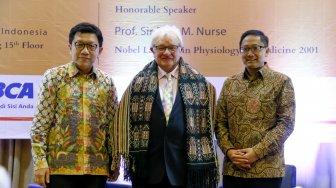 Hadir di Atma Jaya, Peraih Nobel Kedokteran Sampaikan Pesan untuk Milenial