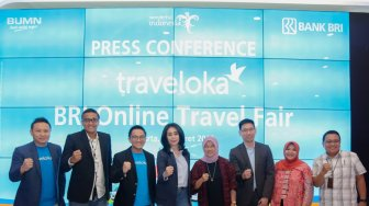 BRI Hadirkan Promo Diskon di Traveloka Lewat BRI Online Travel Fair