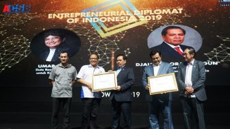ICSB Indonesia Beri Entrepreneurial Diplomat of Indonesia Award 2019