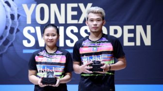 Runner-up Swiss Open 2019, Rinov / Pitha Tetap Disanjung