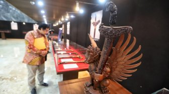 Pameran Keris Madura di DPR
