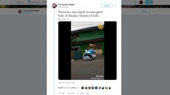 Antimainstream! Gaya Joget Maskot Vivo Ini Bikin Ngakak Warganet