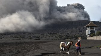 Wisata di Gunung Bromo Masih Berjalan Normal