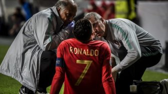 Cristiano Ronaldo Tak Khawatir Soal Cederanya Saat Lawan Serbia