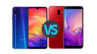 Duel Ponsel Kelas Menengah, Redmi Note 7 vs Samsung Galaxy J6 Plus