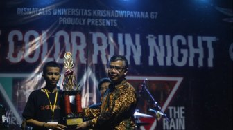 Menpora Buka The Color Run Night 2019 Unkris
